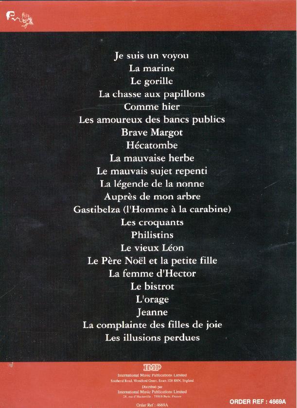 Recueils De Partitions Le Hlm Des Fans De Renaud